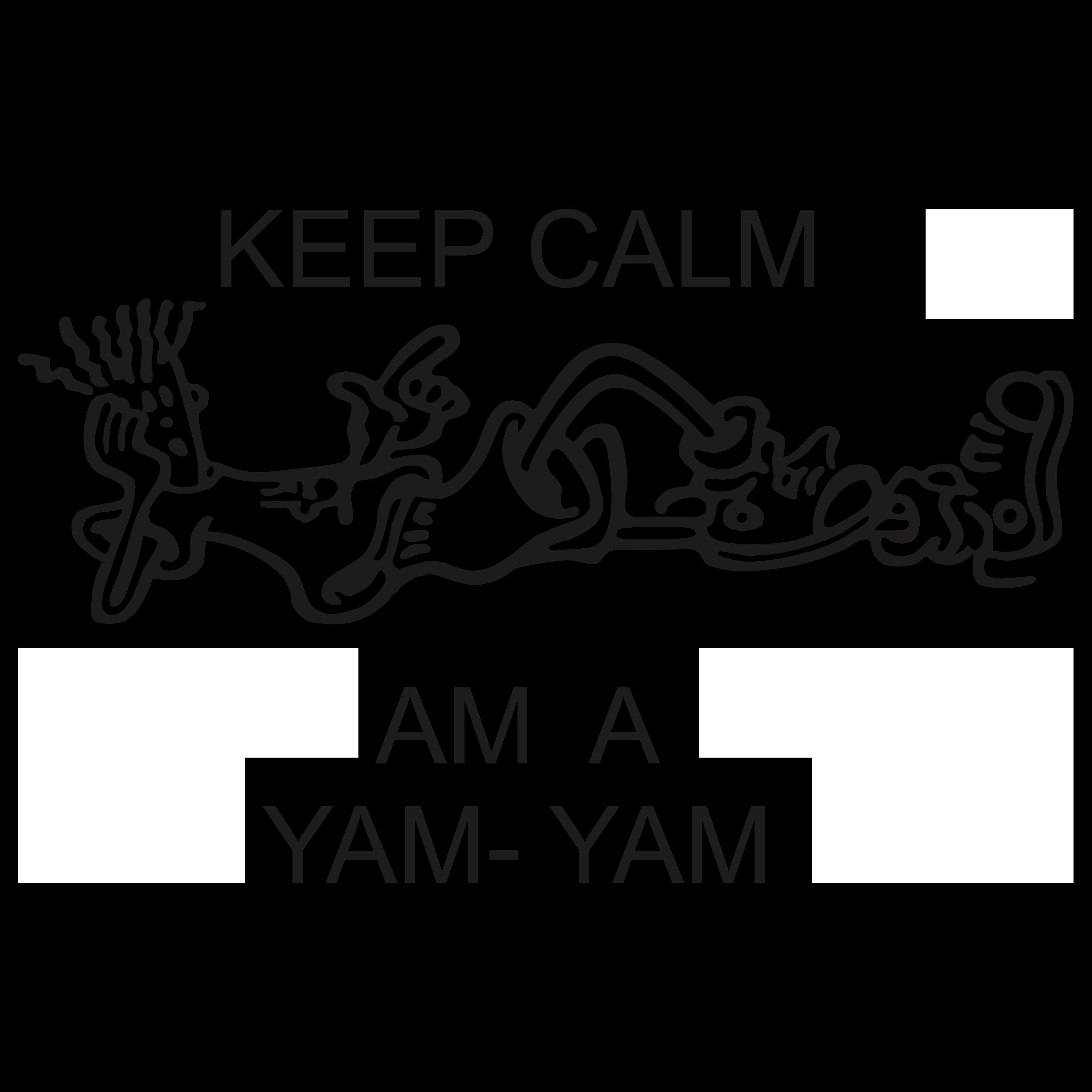 BLC005 - Keep Calm Am A Yam Yam