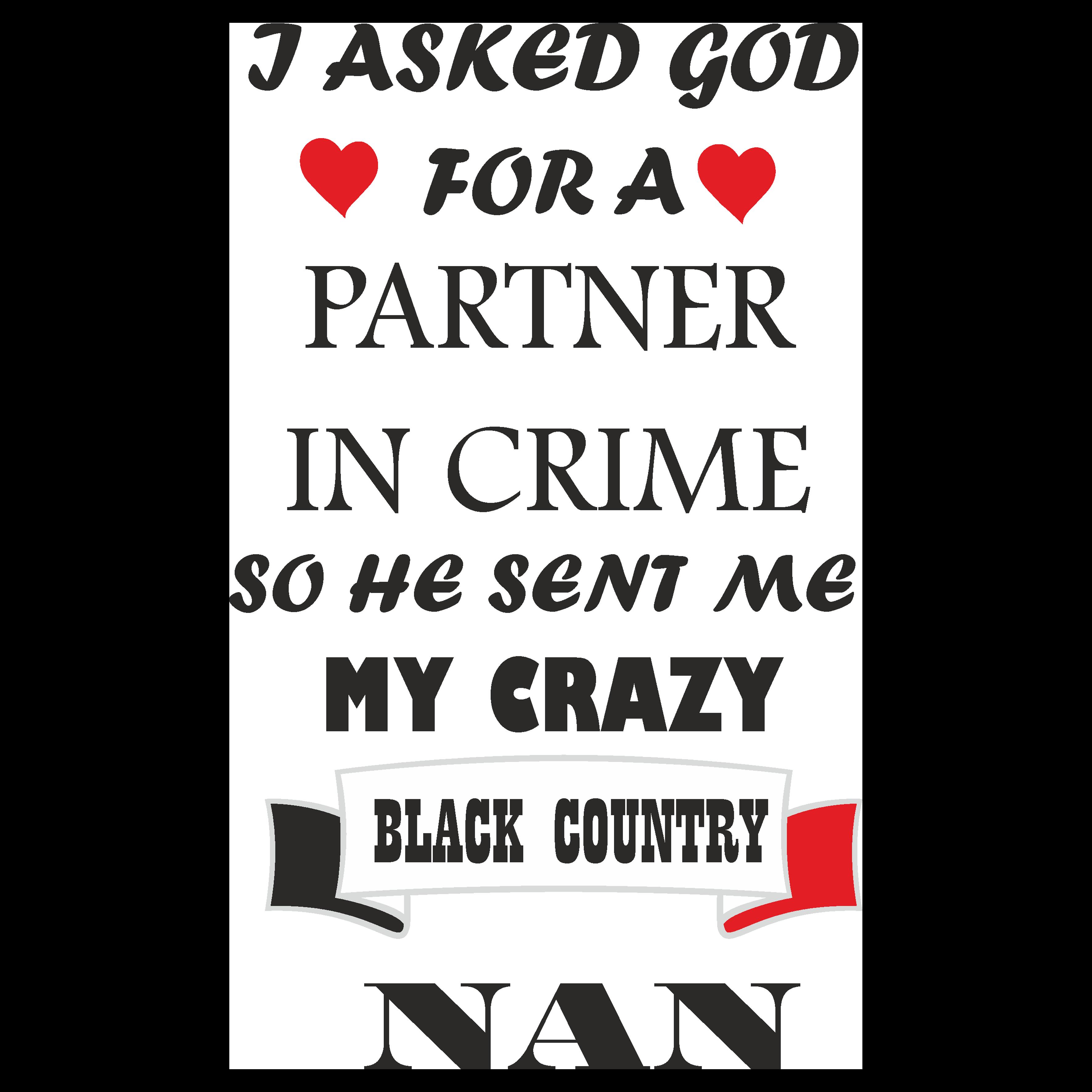 BLC013 - Black Country Nan Partner In Crime